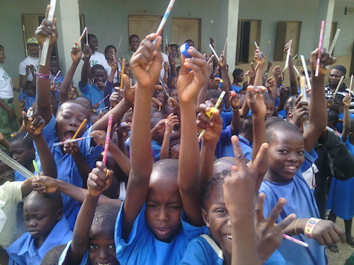 Helping children in Nigeria to understand education is their right