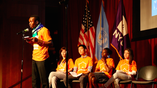 Global Youth Ambassadors on #UpForSchool: Bamine Boye