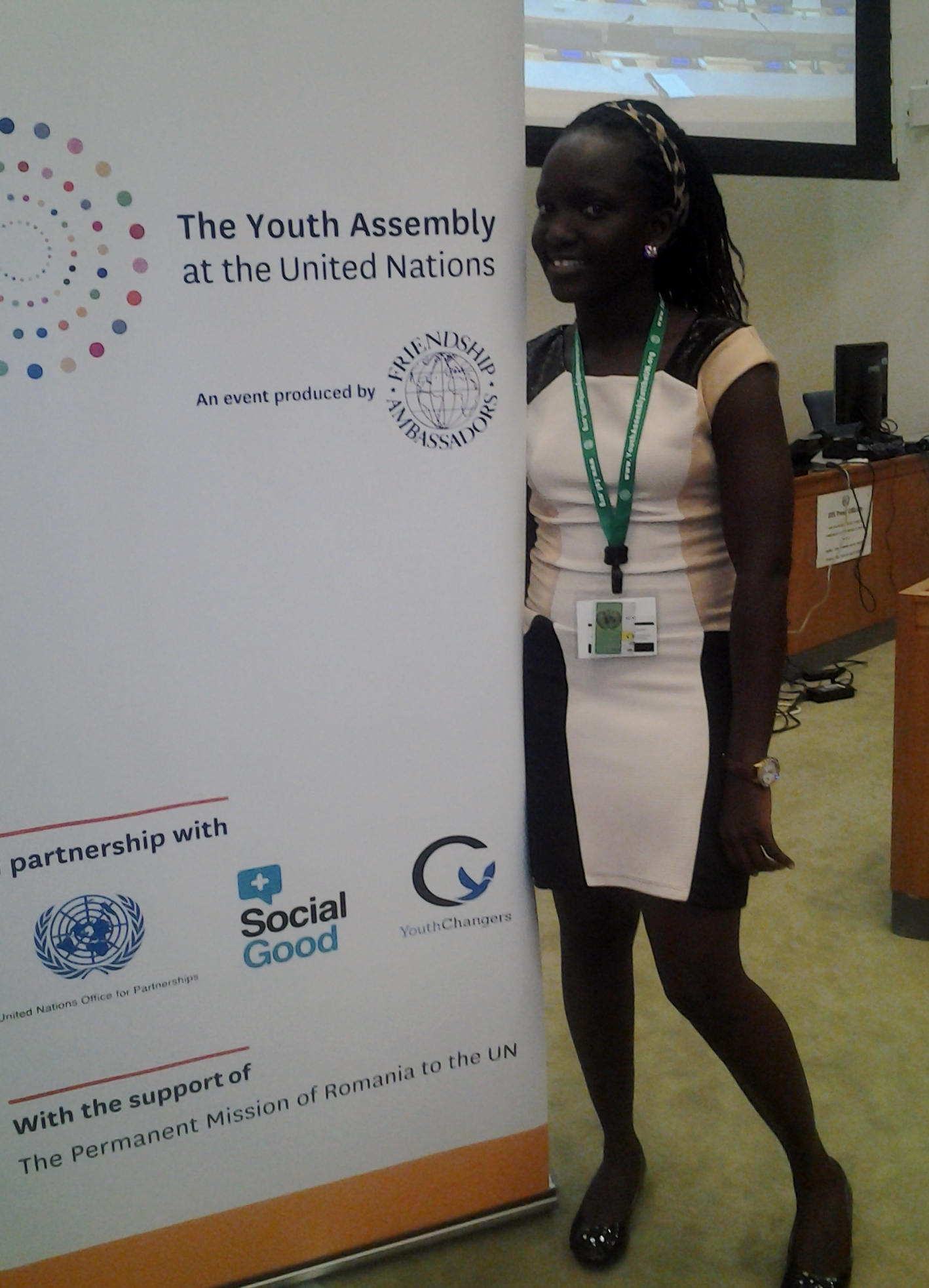 UN event showed young people are doing amazing things in their communities