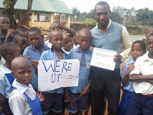 How a pencil or notebook can change the life of a Nigerian child