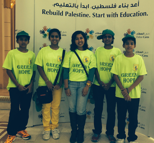 UAE youth group helps with school kits for Gaza children