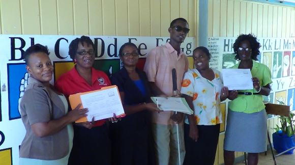 Sending the #UpForSchool messages to students and teachers in Guyana