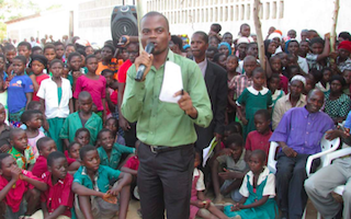 Standing up for girls' education in rural Malawi