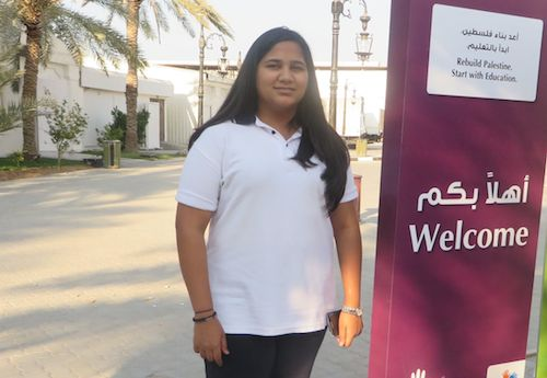 Global Youth Ambassador from UAE supports Gaza school kits project
