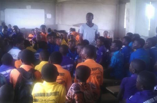 Educating children in Ghana about computers and information technology
