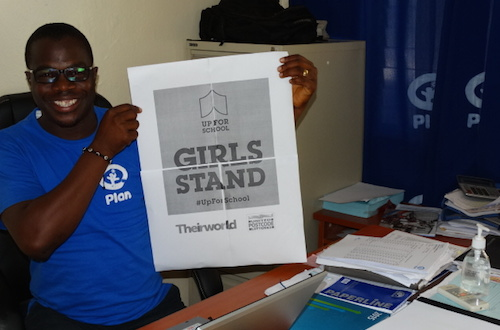 How we got 75,000 signatures and spread #UpForSchool message in Liberia