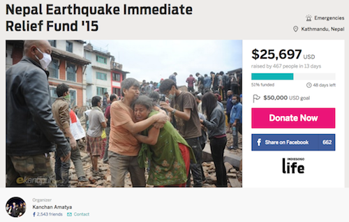 Help Nepal's children get back to school after earthquake