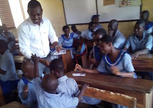 Reaching out to help children with disabilities in Lagos