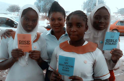 Taking school supplies and love to marginalised children in Nigeria