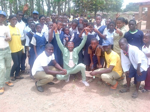 Road trip to take education message to children in rural Nigeria