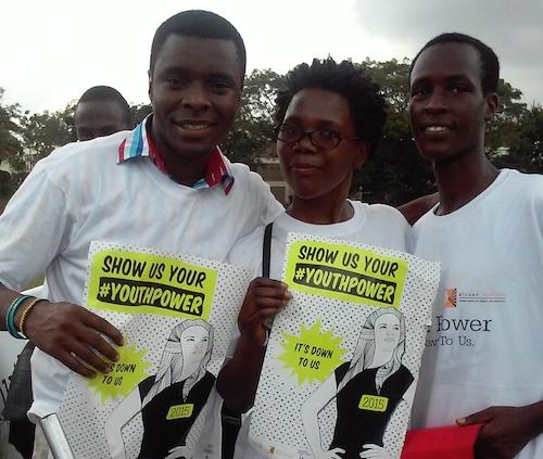 Celebrating International Youth Day in Uganda