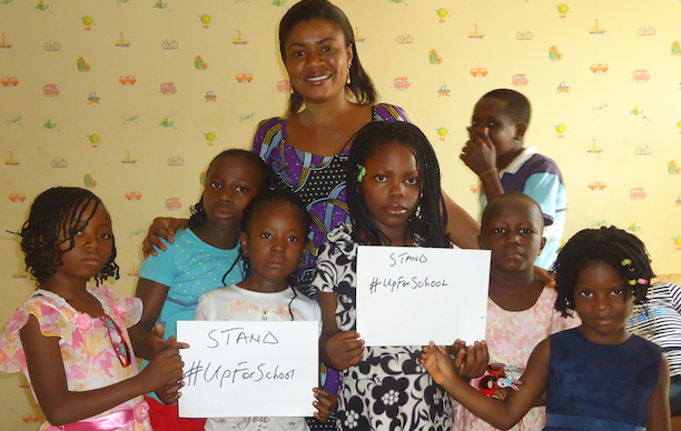 Help orphans to get #UpForSchool and have a brighter future