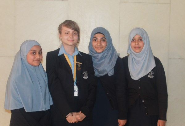 The Sarah Bonnell Girl's School Students at Malala Day London