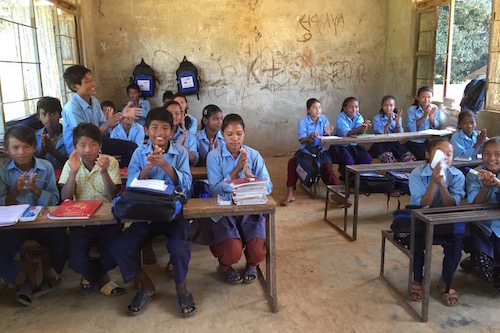 Six months after Nepal earthquake: What life is like for school students
