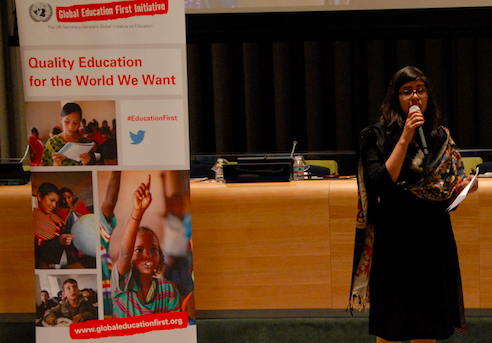 Youth Advocacy Group's Sumaya Saluja: Help us give every child an education