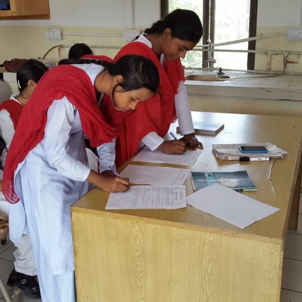 #UpForSchool petition signed by Pakistani children