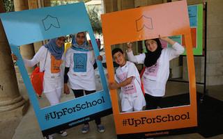 New Global Youth Ambassadors in Lebanon are #UpForSchool