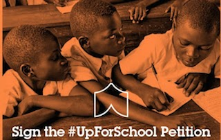 Which caring celebrities are #UpForSchool? Take our quiz to find out