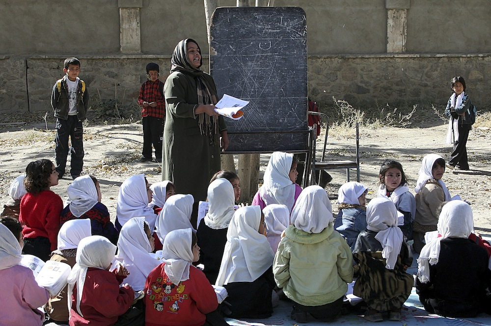 Afghan girls now go to primary school but secondary dropout rate still high