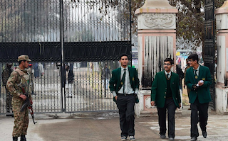 Peshawar attack: children go back to school across Pakistan