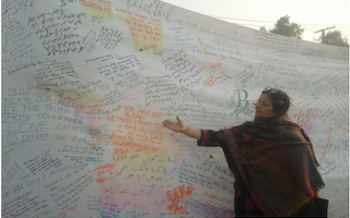 Youth ambassadors visit families of students killed in Peshawar school attack