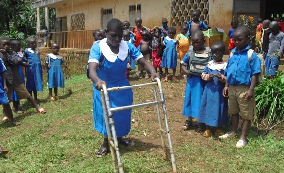 Amazing determination of 12-year-old with disabilities who had never been to school
