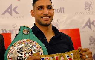 Boxing hero Amir Khan goes to Pakistan to show support for Peshawar