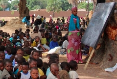 CAR children in Chad camps just want to go to school