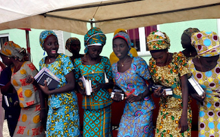 Freed Chibok girls reunited with families - and 83 more could be released