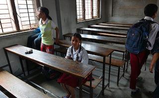 Earthquake or border politics? What's keeping Nepal's children out of school