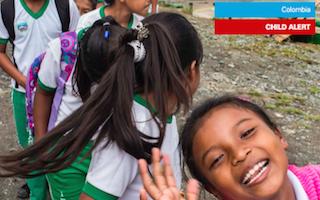 Colombian children still missing out on school despite peace talks