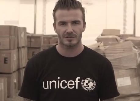 David Beckham and Cristiano Ronaldo call for better future for Syrian children