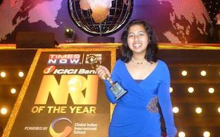 She's just 14 but Global Youth Ambassador Kehkashan from India wins international award