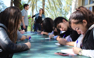 Inspiration from Lebanon: a Global Youth Ambassadors workshop