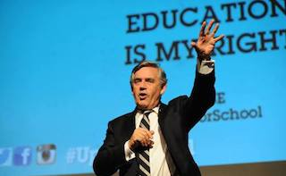Gordon Brown to quit as British MP and concentrate on global education campaign