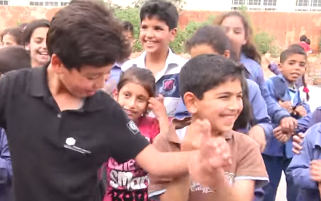 Children of Syria show their Happy side in music video