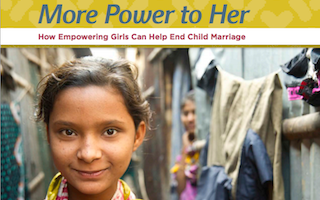 Education and girl-focused interventions are key to ending child marriage