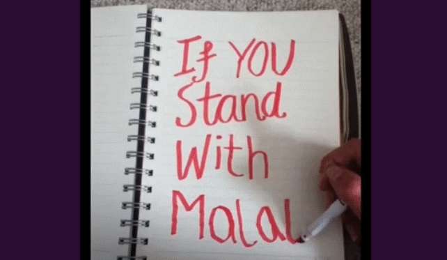 MAKE WAVES for Malala