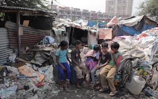 #UpForSchool campaign helps child rag pickers in Delhi slums