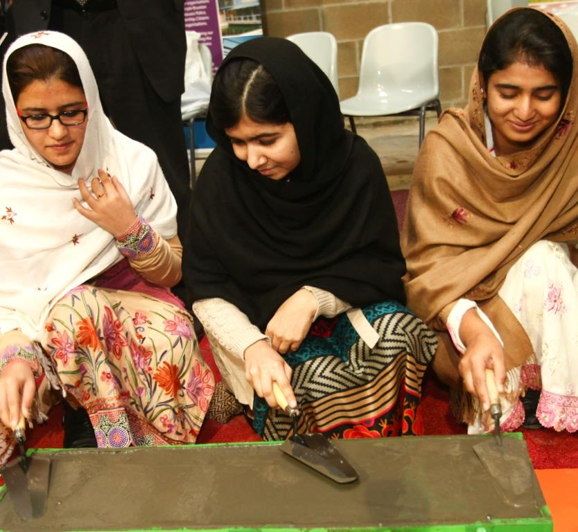 Malala reunited with Shazia and Kainat during visit to Scotland