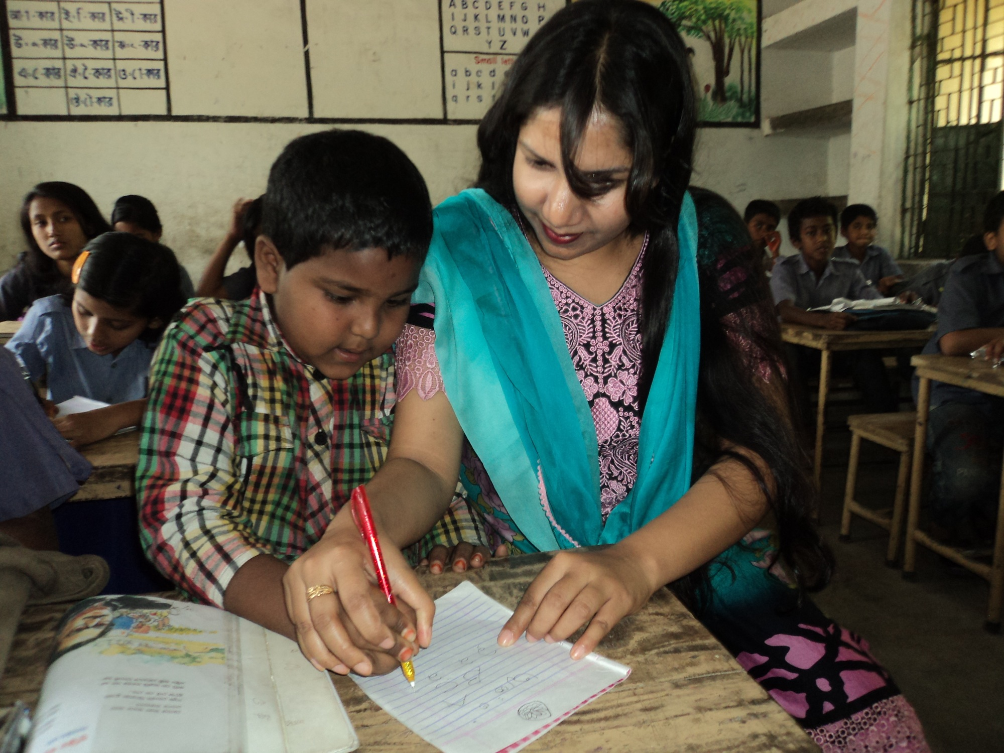 Training teachers is key to helping children with disabilities says British charity
