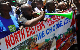 Hundreds of Kenyan schools face closure after Christian teachers walk out over terrorist fears