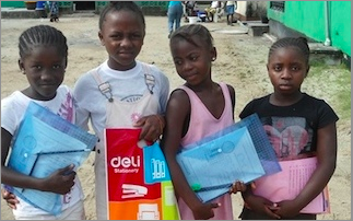 Schools remain closed in Liberia due to Ebola but thousands of children have continued to learn
