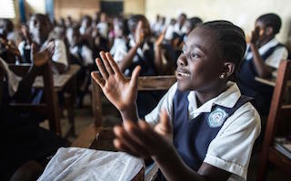 Ebola two years on: Liberian children at school but challenges remain
