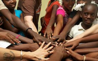 Author Holiday Reinhorn on how Lide project uses the arts to help educate girls in Haiti