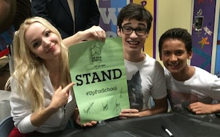 Stars of Disney Channel's Liv and Maddie show are #UpForSchool