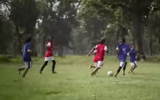 Watch how football is helping girls in Nepal study and avoid child marriage