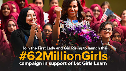 #62 Million Girls launch social share image