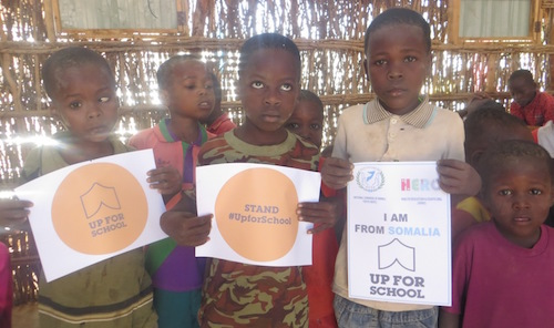 #UpForSchool event held by National Congress of Somali Youth