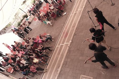 #UpForSchool music festival at school in Mexico City